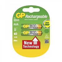 Аккумулятор GP  800mAH  AAA/HR03