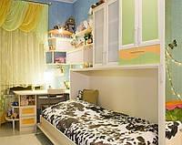 Детская спальня с кроватью трансформером