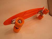 "Пенни борд 22"" оранжевый, фото 1"
