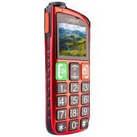 Телефон Sigma Comfort 50 Light Red (бабушкофон)
