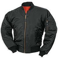 Куртка летная МА1 США черная Mil-Tec
