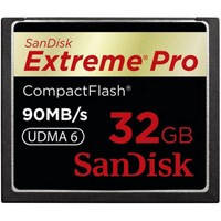 Флеш карта SanDisk 32Gb Compact Flash eXtreme Pro (SDCFXP-032G-X46) 32Gb, Compact Flash