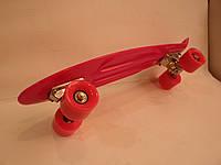 """Пенни борд 22"""" розовый, фото 1"""