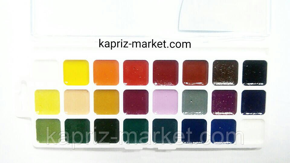"""Краски акварельные """"Чудо-Краски"""" 24 цв."""
