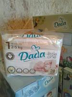 Подгузники DADA 1 (2-5 кг) 28 шт