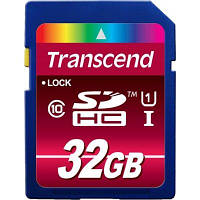 Флеш карта Transcend 32Gb Secure Digital Card HC class 10 UHS-I (TS32GSDHC10U1) 32Gb, SD (Secure Digital), UHS-I