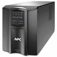 ИБП APC Smart-UPS 1000VA LCD (SMT1000I) line interractive, Класичний, 1000 В*А, 670 Вт, 160 к 286 В, синусоїда, 6 мін, 8/0, USB, SmartSlot,