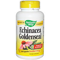 Эхинацея, Echinacea, Nature's Way, 450 мг, 180 капсул