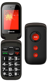 Телефон Bravis CLAMP Black '5