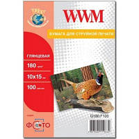 Бумага WWM 180 г/м2 10х15 см 500 л фото гл (G180.F500)