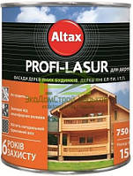Краска Altax Profi-lasur для дерева на основе пчелиного воска - 2,5 л