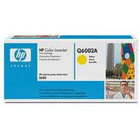Картридж HP Q6002A желтый (CLJ1600/2600/2605 CM1015/1017)