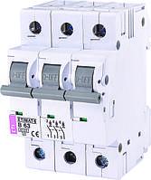 Модульные автоматические выключатели ETI модель Etimat 6 (отключающая способность 6 кА)