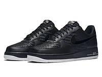 Кроссовки Nike Air Force 1 07 LV8 Black Summit White Chrome 42 2eefeb5e9bd66