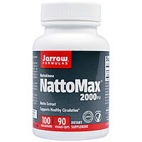 Наттокиназа NattoMax 2000 FU, Jarrow Formulas, 100 мг, 90 капсул