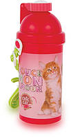 "Бутылка с трубочкой ""Chic Cat (котик Шик)"""