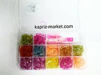 Резинки для плетения браслетов (600 шт.)