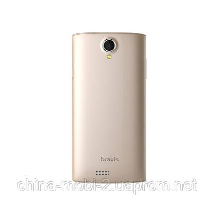 "Смартфон Bravis A501 Bright 5.0"" Gold'', фото 2"