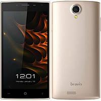 "Смартфон Bravis A501 Bright 5.0"" Gold'', фото 1"