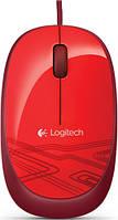 Мышка LOGITECH M105 Red