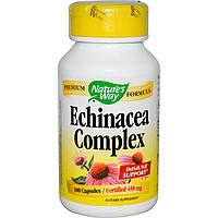 Эхинацея, Echinacea, Nature's Way, 450 мг, 100 капсул