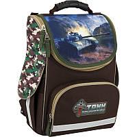 Рюкзак школьный каркасный Kite 501 Tank Domination для мальчиков (TD16-501S)