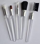 Кисти для макияжа набор 5шт GLOBOS BV-02