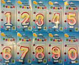 Свічки для торта Цифра 8, фото 2