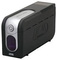 ББЖ Powercom IMD 825 (IMD-825) 825 ВА, 495 Вт, Line-interactive, апроксимована синусоїда, час переходу на батарею: 2-4 мс, AVR, повний