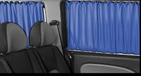 Шторки автомобильные Mercedes Sprinter/VW Crafter 06-, синий