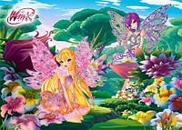 Пазлы Winx, Цветочная поляна 30 деталей В-РU03351