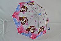 """Детский зонт-трость для девочек на 5-9 лет от фирмы """"FeelingRain""""."""