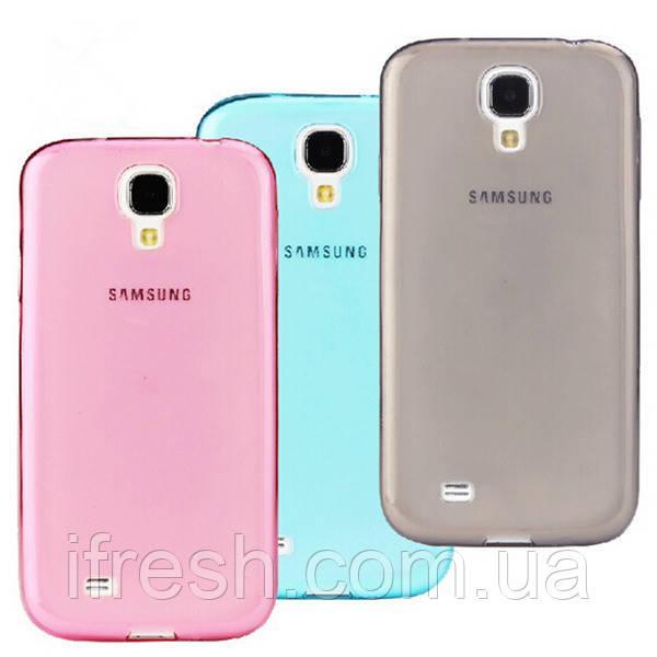 Чехол силиконовый розовый для Samsung Galaxy S4 MINI (i9190)