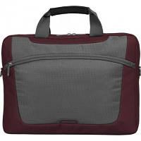 Сумка для ноутбука 10.2 Sumdex PON-308RD Red 10,6' / красный + серый / нейлон / внешние размеры нa  29,8 х 21 х 5,1 см  / внутренние размеры нa  28,6