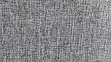 Мебельная рогожа ткань Поло сер, фото 2