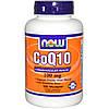 Коэнзим Q10, CoQ10, Now Foods, 100 мг, 180 капсул