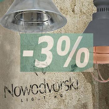 Скидка на светильники Nowodvorski