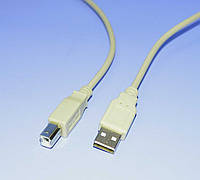 Шнур шт.USB-A - шт.USB-B (компьютер-принтер) D3.5mm 1.8м  KPO2784-1,8