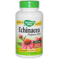 Эхинацея, Echinacea, Nature's Way, 400 мг, 180 капсул