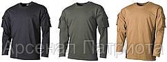 """Рубашка боевая с длинным рукавом и двумя карманами на липучке, 100% хб, """"S-XXXL"""", """"MFH"""""""