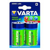 Аккумулятор VARTA D 3000mAh NI-MH 2шт (56720101402)