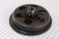 Сцепление вариатора в сборе для  скутера 2т ТВ50-60 цепной вариатор.