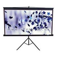 Проекционный экран ELIT SCREENS T85NWS1 3.5кг, 1-1, 85, 152.4 x 152.4, переносний на тренозі