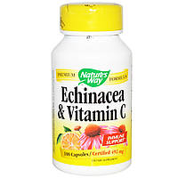 Эхинацея, Echinacea, Nature's Way, 492 мг, 100 капсул