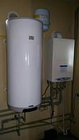 Отопление и ГВС дома 160 м2.Конденсационный котел Nova Florida,бойлер косвенного нагрева Drazice 150 л.
