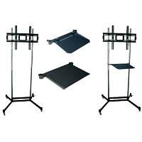 Стойка презентационная для плазм и TV KSL PS1 к 150 кг, 187 см, черный