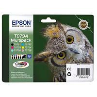 Картридж Epson P50/ PX660/720WD/820FWD Bundle (C13T079A4A10) 6 картриджів (Bk,C,M,Y,LC,LM)