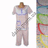 Женская котоновая пижама QT35 оптом со склада на 7км.