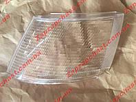 Рассеиватель поворотника (стекло) переднего Ваз 2110 2111 2112 левый белый Формула Света БОШ (точки по краю)