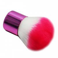 Кисть кабуки (розовая)